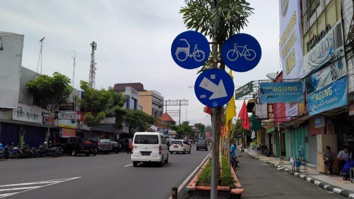 Jalur Sepeda Hadir di 9 Jalan Protokol di Kota Magelang