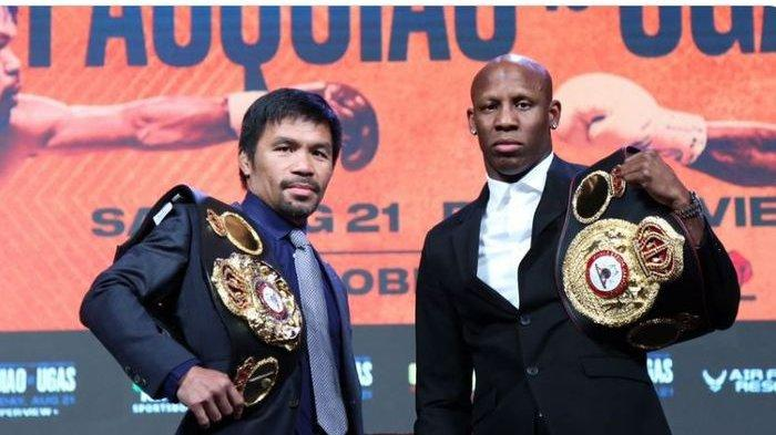 Jam Tayang Duel Manny Pacquiano vs Yordenis Ugas di Indosiar, Live Minggu Pukul 08.30 WIB