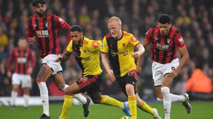 Jam Tayang Liga Inggris Malam Ini Bournemouth v Watford di TVRI, Duel Tim Zona Degradasi