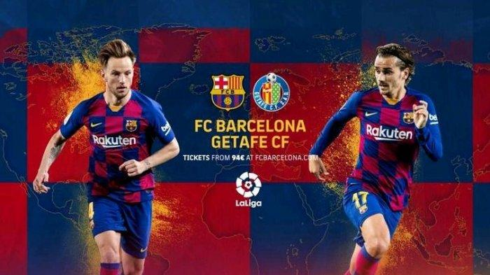 Siaran Langsung Bein Sports 1 Liga Spanyol Barcelona vs Getafe, Kick Off Pukul 21.55 WIB