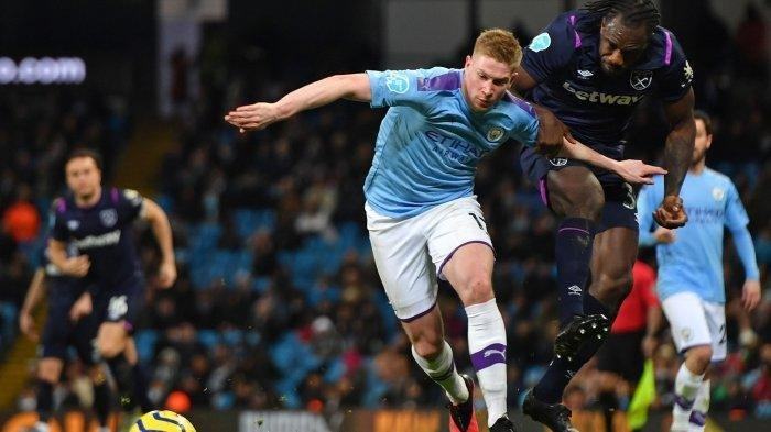 Jam Tayang West Ham United vs Manchester City & LINK Live Streaming Liga Inggris di Mola Tv