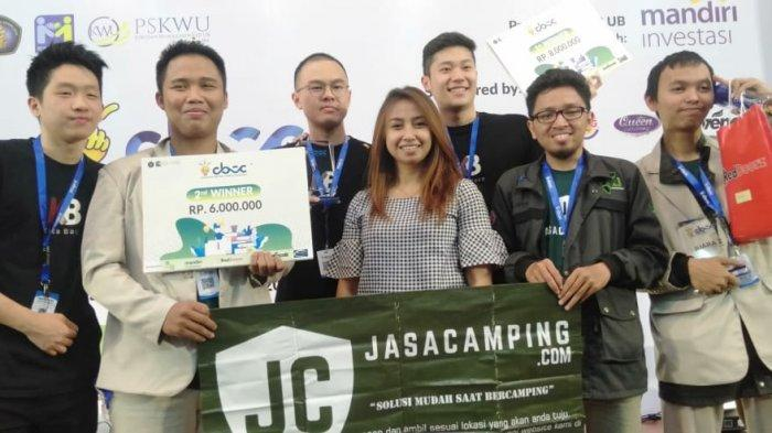 Jasacamping.com Bawa Universitas Amikom Yogya Juara II Tingkat Nasional Kompetisi CBCC