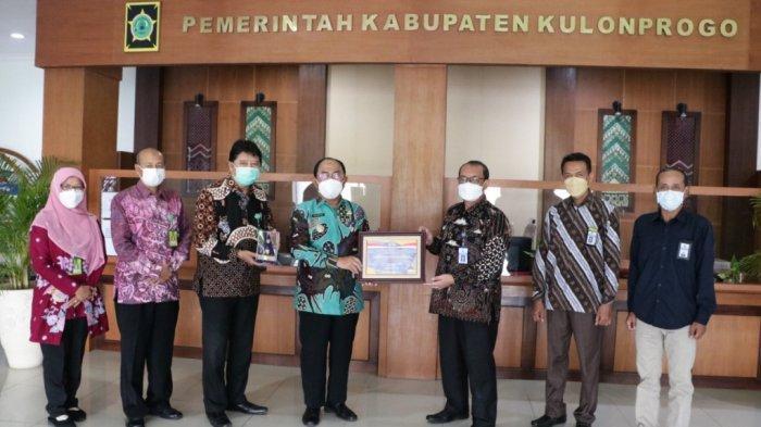 Jelang HUT ke-70, Pemkab Kulon Progo Dianugerahi Penghargaan Opini WTP 8 Kali Berturut-turut