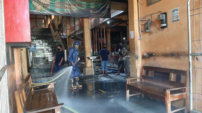 Disperindag Kota Yogya Pantau 30 Pasar Tradisional dengan Rutinkan Penyemprotan Disinfektan