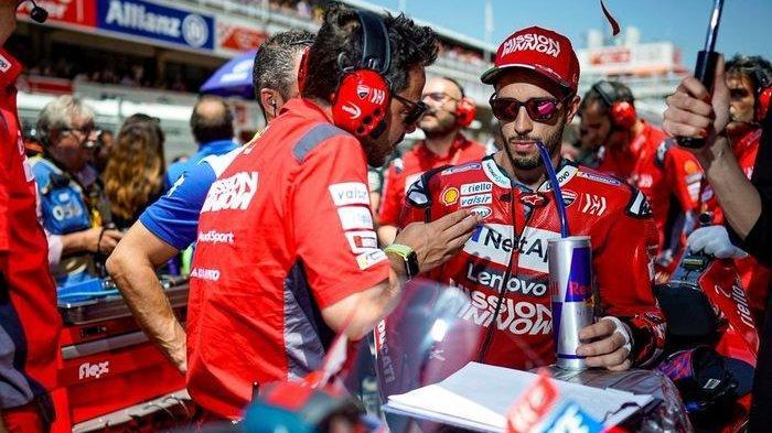 Tergeser dari Puncak Klasemen MotoGP 2020, Andrea Dovizioso Kecewa Terjatuh Gara-gara Johann Zarco