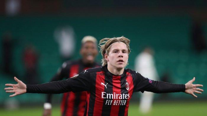 AC MILAN: Berita Terkini Transfer Jens Petter Hauge ke Eintracht Frankfurt