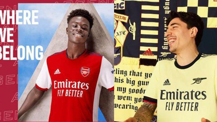Jersey Arsenal 2021 2022