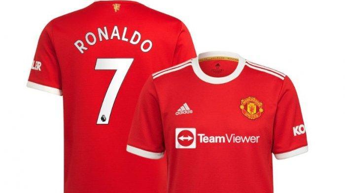 Berita MU: Jersey Nomor 7 Ronaldo Langsung Muncul di Store Man Utd
