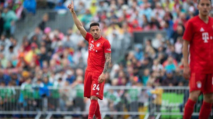Gelandang Bayern Munchen Corentin Tolisso