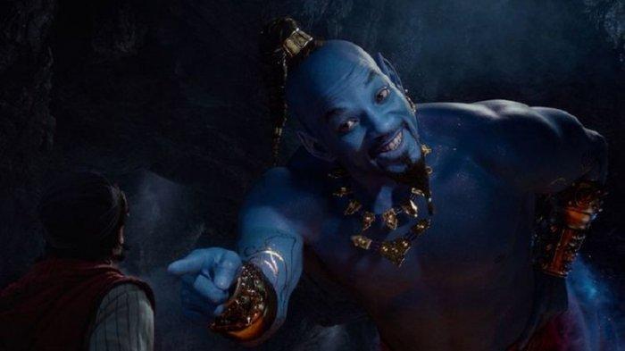 Ini Penjelasan Ilmiah di Mengapa Jin Aladdin Berwarna Biru