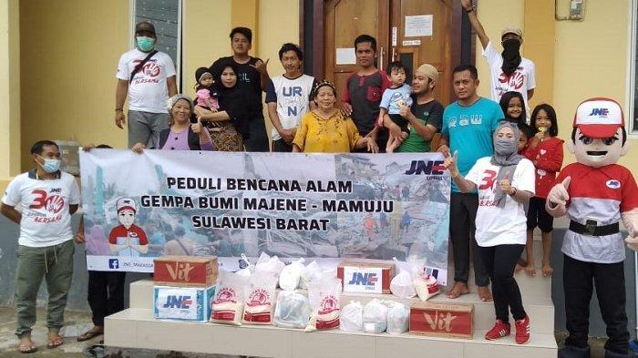 Peduli Bencana, JNE Ajak Masyarakat Kirimkan Bantuan