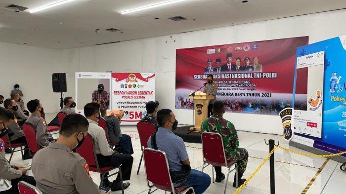 Jogja City Mall Gelar Respon Vaksin Serentak Untuk Keluarga Polri danPelayan Publik di Sleman