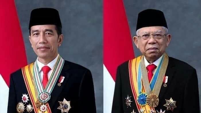 Selamat! Jokowi-Ma'ruf Amin Resmi Menjabat Presiden dan Wakil Presiden 2019-2024