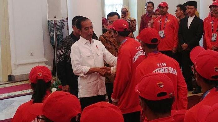 Jokowi: Saya Senang, Emasnya Lebih Banyak daripada Asian Games