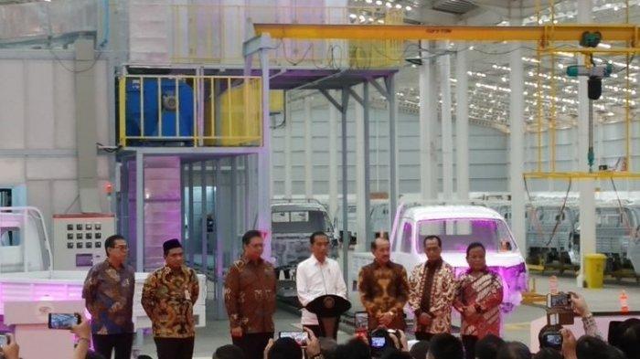 Jokowi Resmikan Esemka, Langsung Luncurkan Dua Varian Sekaligus, Bima 1.2 dan Bima 1.3