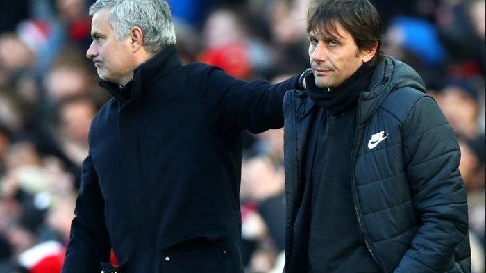 Jose Mourinho dan Antonio Conte