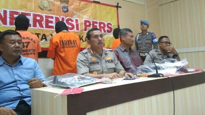 Polresta Yogyakarta Bekuk 4 Pelaku Pengeroyokan di Mergangsan yang Tewaskan Seorang Pelajar