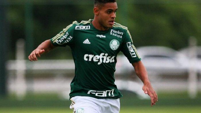 Juninho saat memperkuat Palmeiras.