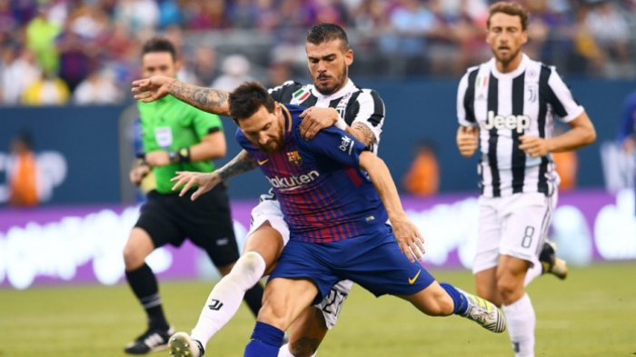 LIVE STREAMING SCTV Liga Champions Barcelona vs Juventus Malam Ini
