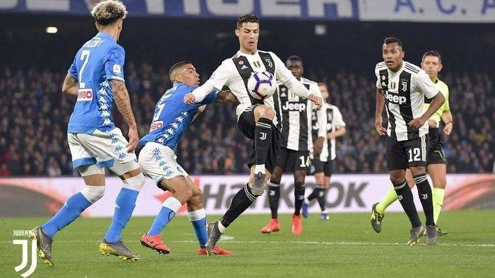 Final Piala Super Italia Juventus vs Napoli