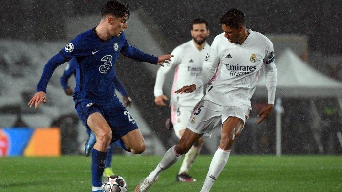 Siaran Langsung Liga Champions CHELSEA vs REAL MADRID Tayang Live Streaming di Channel TV Ini