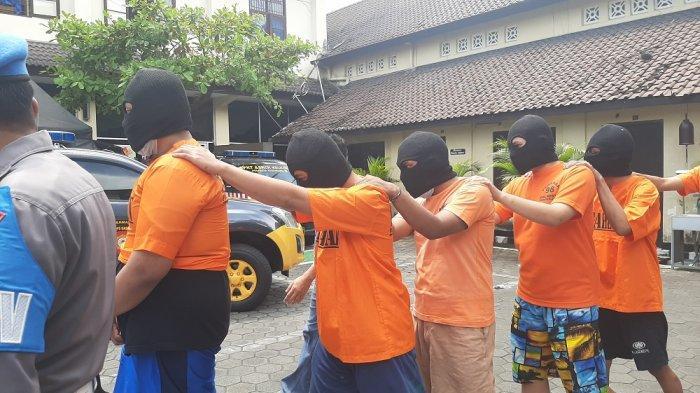 Kalah Tawuran, Genk Motor di Jogja Lapor Polisi, Enam Pelaku Diringkus Polresta Yogyakarta