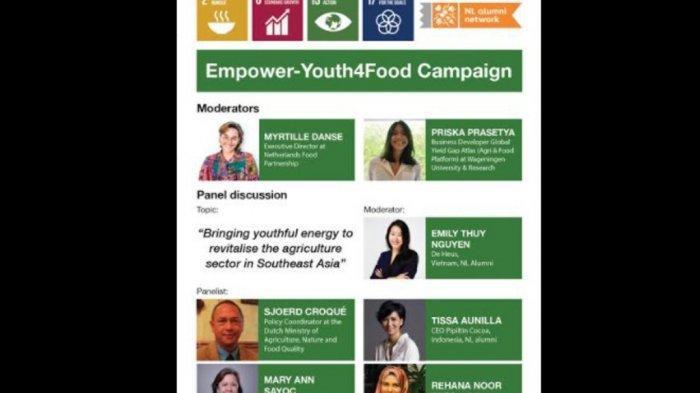 Kampanye#EmpowerYouth4Food, Ada Hadiah5.000 Euro untuk Inovasi Pertanian Mahasiswa