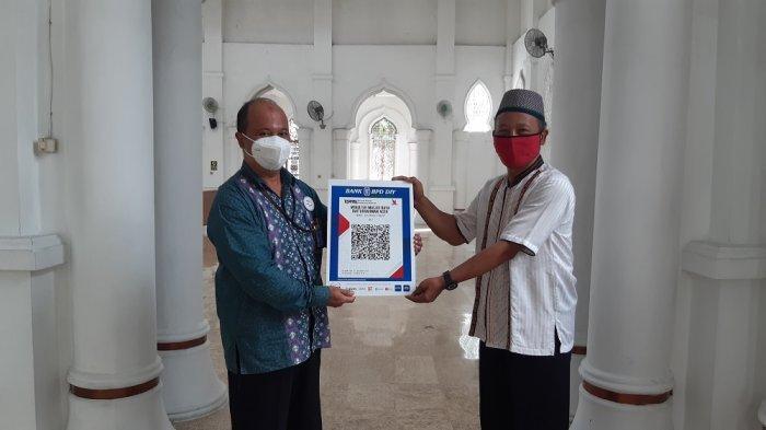 Kampanyekan Donasi Digital,Bank BPD DIY Syariah Fasilitasi Masjid dengan Aplikasi QUAT