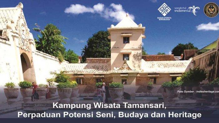Kampung Wisata Tamansari Jogja, Perpaduan Potensi Seni, Budaya dan Heritage