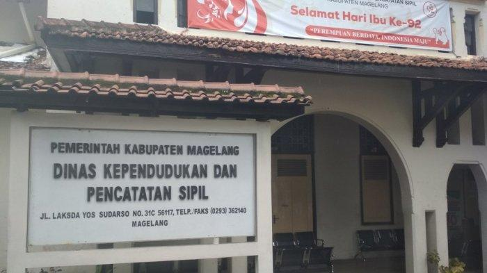 Dua Karyawan Positif Covid-19, Disdukcapil Kabupaten Magelang Tutup Sementara