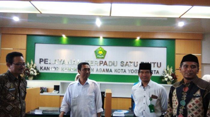 Ibadah Haji 2018 - Permudah Pendaftaran Calon Jemaah Haji, Kankemenag Kota Yogyakarta Launching PTSP