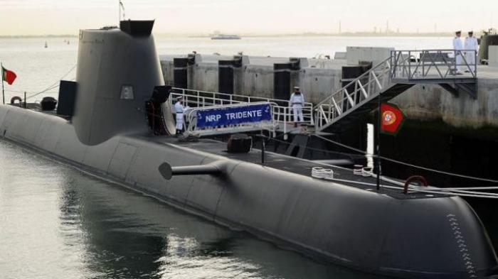 Kapal selam milik AL Portugal, Tridente.