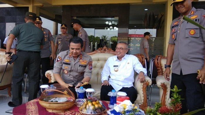 BREAKING NEWS : Kapolda DIY Kunjungi Mapolres Bantul untuk Cek Persiapan Pengamanan Pilkada