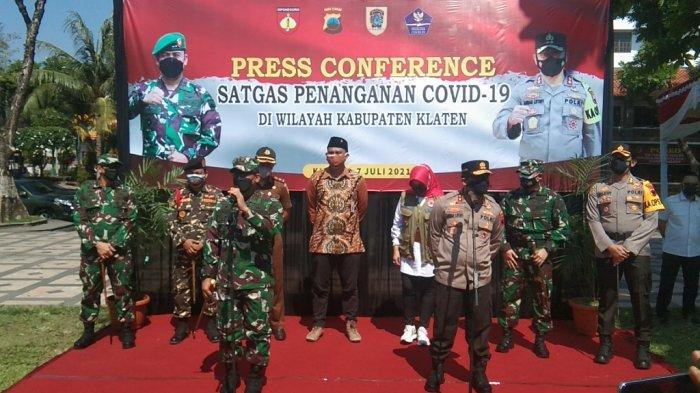 Kapolda Jateng dan Pangdam IV Diponegoro Gelar Apel Pasukan di Klaten