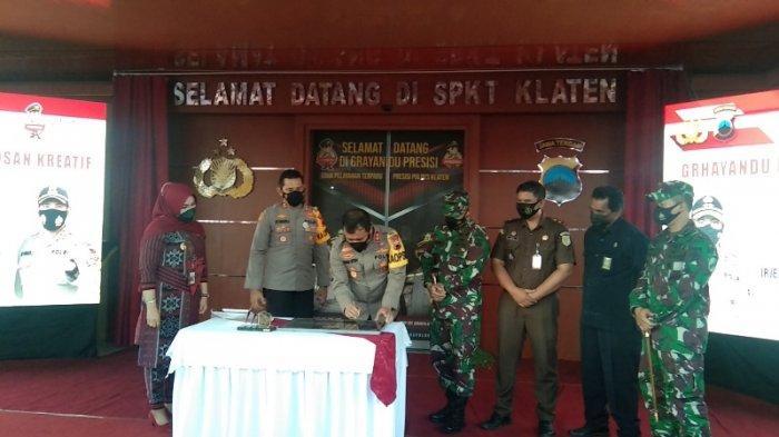 Kapolda Jateng Resmikan Grhayandu Presisi Polres Klaten