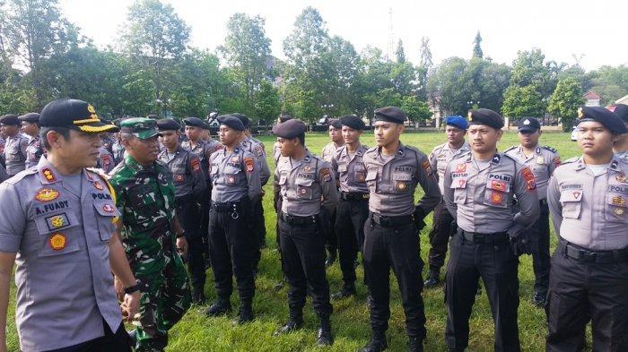 Masuk Kategori Rawan, Polres Gunungkidul Berikan Pengamanan Ekstra 7 TPS