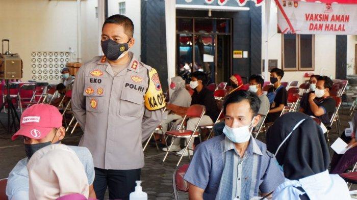 Polres Klaten Kembali Gelar Vaksinasi, Kali Ini Sasar Petani Lansia