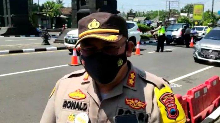 Cegah Pemudik Masuk Magelang, Kapolres Pimpin Operasi Yustisi Gabungan di Perbatasan