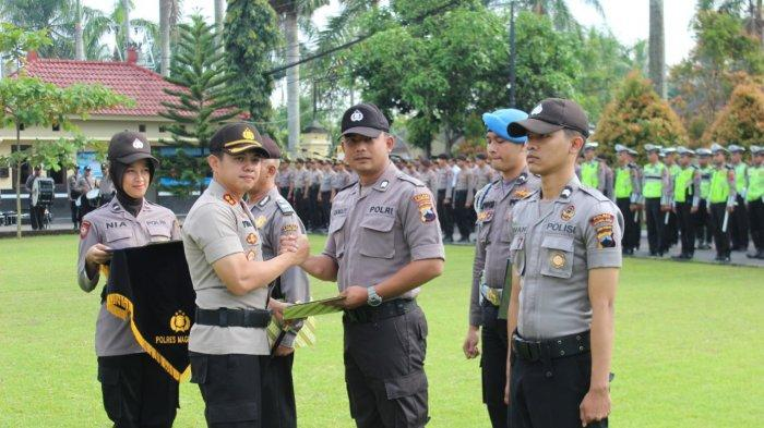 Poskamling Berperan Besar Jaga Keamanan dan Kawal Pemilu 2019 di Kabupaten Magelang