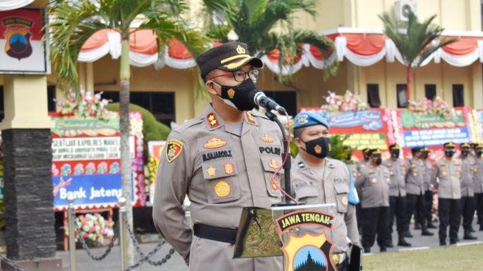 Hari Pertama Bertugas, Kapolres Magelang Minta Tingkatkan Pelayanan Masyarakat Guna Raih WBBM