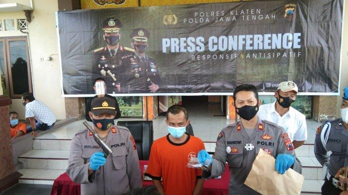 Miliki Senjata Api Rakitan, Residivis di Klaten Ditangkap Polisi Lagi