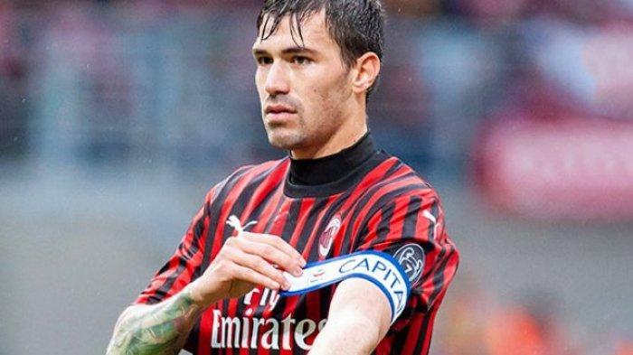 Kapten dan bek AC Milan, Alessio Romagnoli