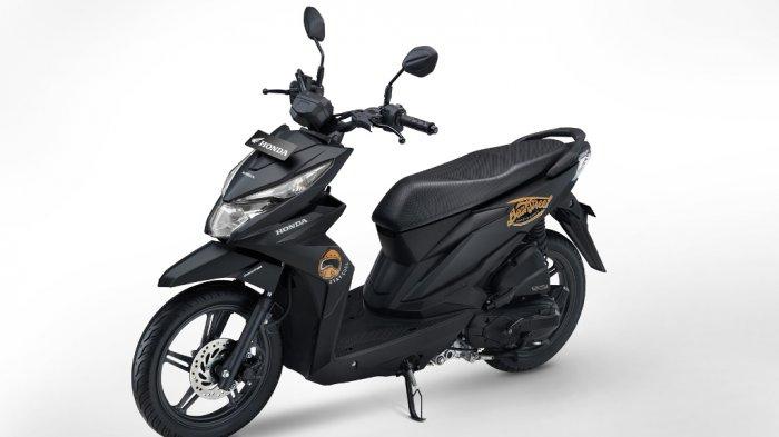 Karakter Street Style New Honda BeAT Menguat dengan Matte Black