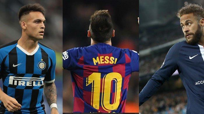 Kata Messi, Neymar Ingin Balik ke Barcelona, Lautaro Martinez Mirip Suarez