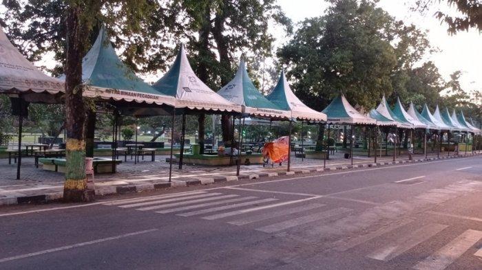 PPKM Level 3 di Kulon Progo, Alun-alun Wates Masih Ditutup Sementara