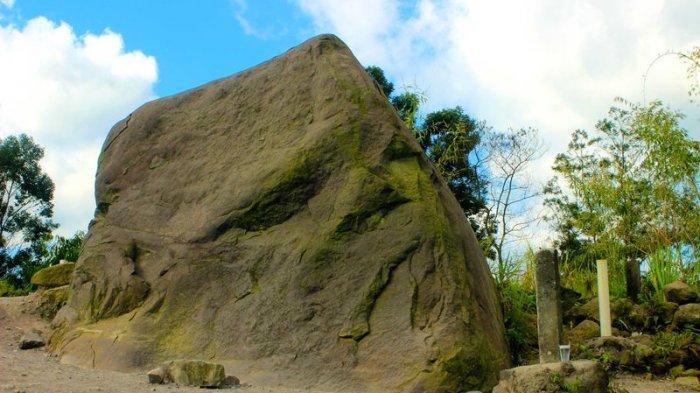 Batu Alien, Bongkahan Batu Vulkanik yang Terlempar dari Perut Merapi