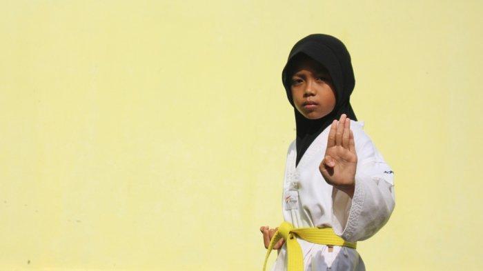Kayla Alya Pratama Sabet Empat Medali di Kejuaraan Taekwondo Kurang dari Satu Tahun