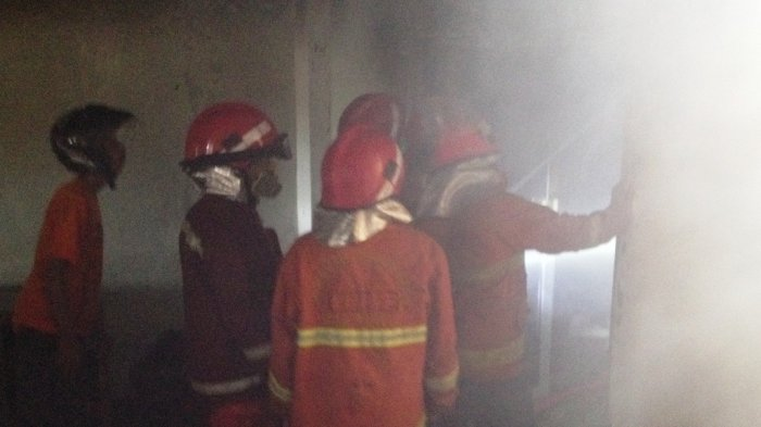 Kebakaran SSA, Alat Latihan Atletik Senilai Rp 70 Juta Hangus