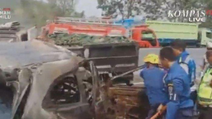 Kecelakaan Tol Cipularang : Tabrakan Beruntun, 6 Tewas dan 8 Luka-luka