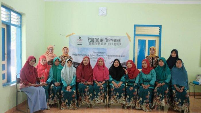Pelatihan Kader Kesehatan Gigi dan Mulut Oleh Prodi Kedokteran Gigi UMY